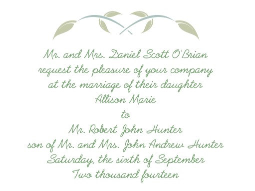 Wedding Invitations Dayton Ohio: Bride & Groom Q & A - Invitation Wording