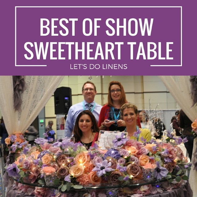 your wedding experience david tutera philadelphia 2016 - best of show sweetheart table