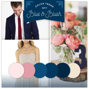 2017 wedding color trends blue