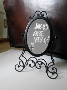 Alice in Wonderland Who Are You Guestbook Sign