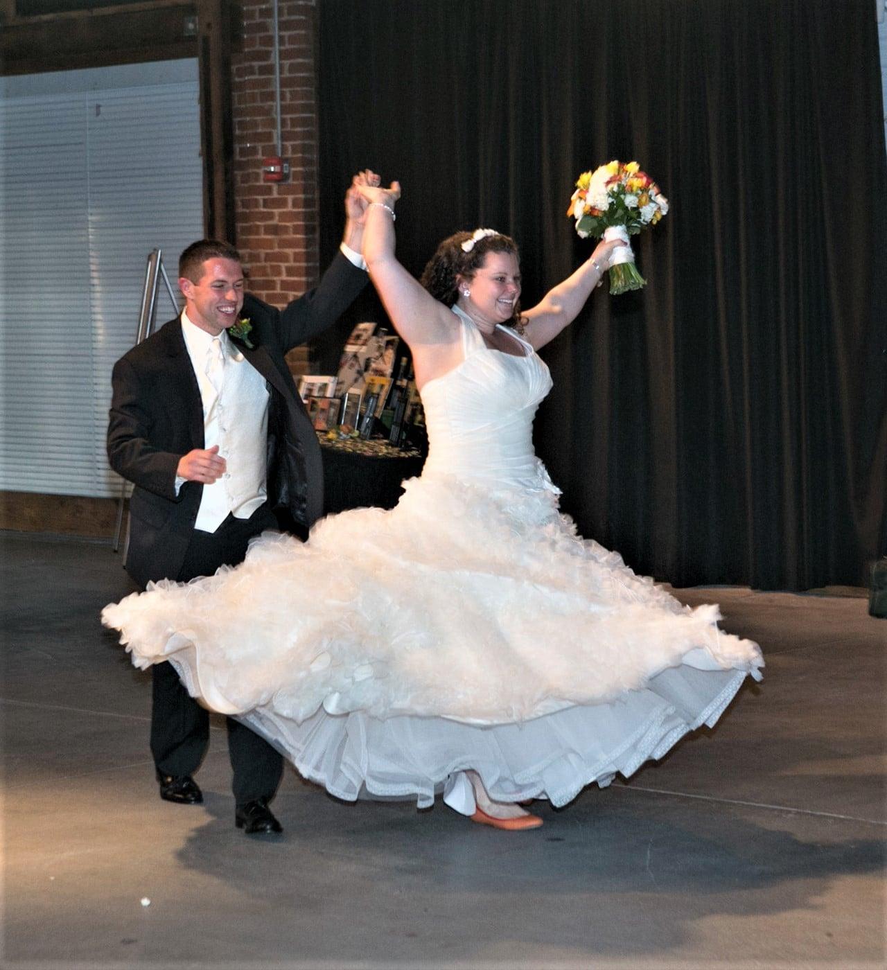 bride & groom introduction